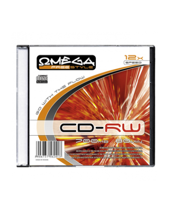 FREESTYLE CD-RW 700MB 12X SLIM CASE*10 [56242]