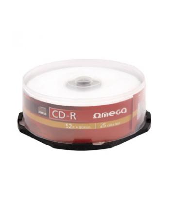 OMEGA CD-R 700MB 52X CAKE*25 [56303]