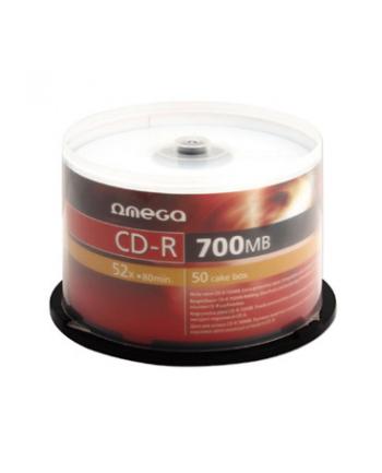 OMEGA CD-R 700MB 52X CAKE*50 [56352]