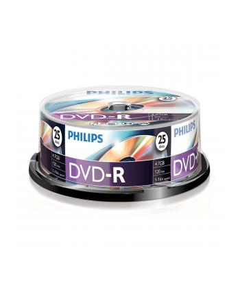 PHILIPS DVD-R 4,7GB 16X CAKE*25  DM4S6B25F/00