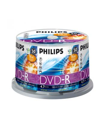 PHILIPS DVD-R 4,7GB 16X CAKE*50  DM4S6B50F/00
