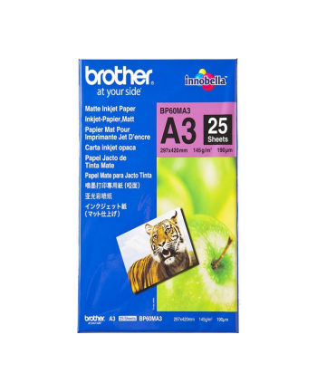 Papier Brother 25 sheets matt A3
