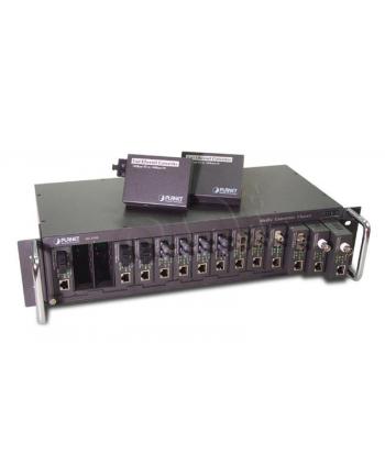 PLANET (MC-1500)  Obudowa dla konwerterów / 15 miejsc / nie zarządzalna / 19'' /