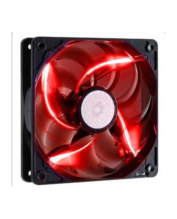 Wentylator COOLERMASTER  SickleFlow 120x120, łożysko ślizgowe o wysokiej trwałości, 19dBA, czerwone podświetlenie