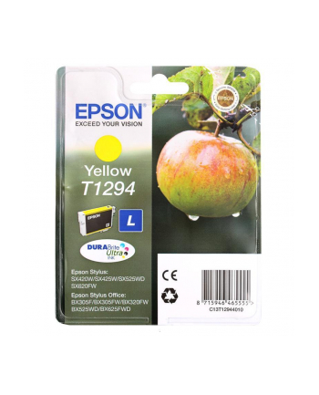 Tusz T1294 Yellow do EPSON SX425W/SX525WD/BX525WD