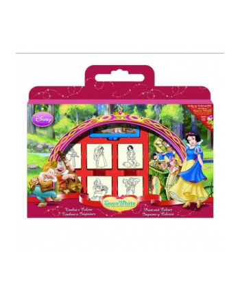 MULTIPRINT Pieczątki Snow White, walizka
