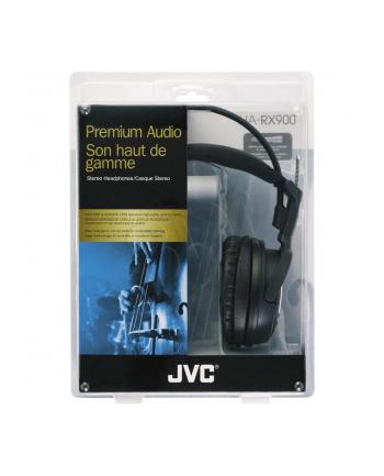 Słuchawki JVC HA-RX900 ( Doskonała reprodukcja dźwięku o wysokiej dynamice dzięki zastosowaniu dużych 50 mm przetworników )