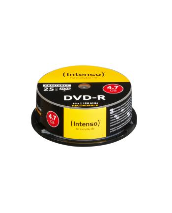 DVD-R Intenso [cake box 25|4.7GB|16x| do nadruku | Extra Fine Matt | Fullface]