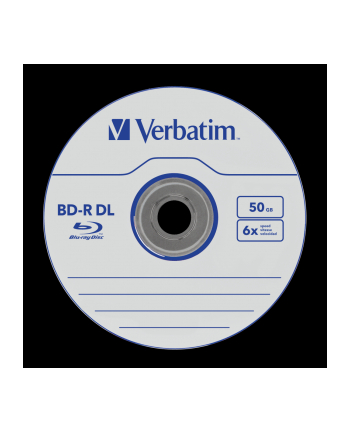 VERBATIM BD-R (10-pack)DualLayer/Spindle/6x/50GB