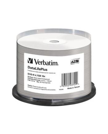 VERBATIM DVD-R(50-Pack)Spindle/Printable/16x/4.7GB/NON-ID