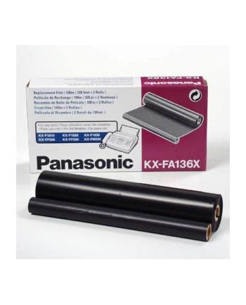 Folia KXFA136X do KX-F1015 Black Refill Rolls 2szt 200m