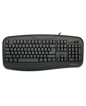 klawiatura dla graczy USB czarna Force K3 układ DE QWERTZ