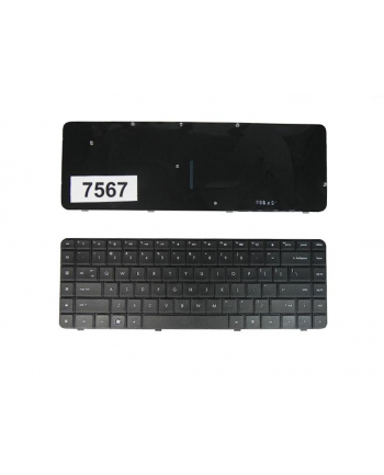 Klaw. do noteb. HP CQ62 CQ56 BLACK