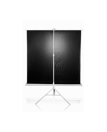 Ekran na statywie /1:1/ 243,8x243,8 MaxWhite / 136'''' white case