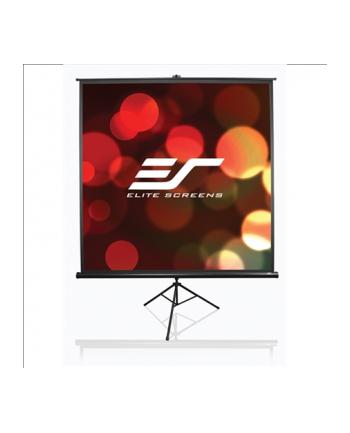Ekran na statywie /16:9/ 114,3x203,2 MaxWhite / 92'''' black case / Cinema