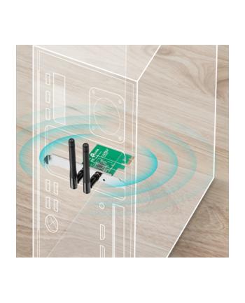 TP-Link WN881ND karta WiFi N300 (2.4GHz) PCI-E 2T2R RP-SMA