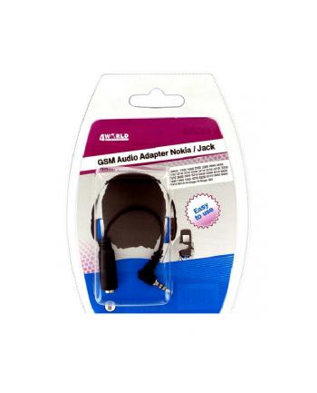 4World Audio adapter Nokia Jack 1100/2100/2300/3330/3510/5210/6030/6600/8210