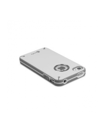 Macally, etui ochronne, Protective glo-in-the-dark case w. dock for iPhone 4S/4