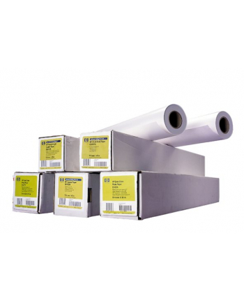 Papier HP White Satin Poster Paper, 1372mm, 61 m, 136 g/m2