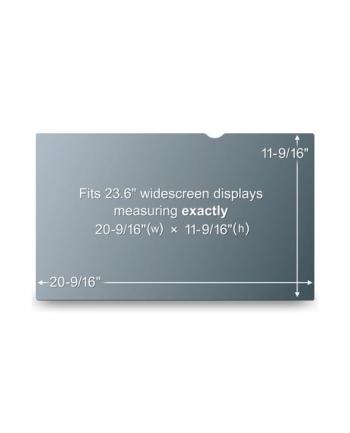 Filtr prywatyzujący na ekran panoramiczny PF23.6W (29,4cm 52,2cm)