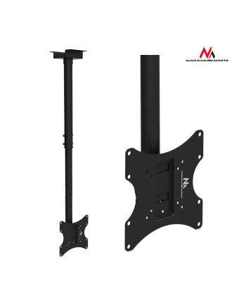 Uchwyt sufitowy do telewizora lub monitora Maclean MC-580B 17-37 vesa 200x200 do 50 kg