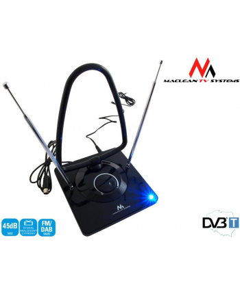 Antena TV Radio DVB-T pokojowa Maclean MCTV-963