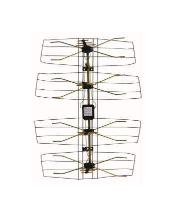 Antena DVB-T siatkowa,zewnętrzna, wzmacniacz