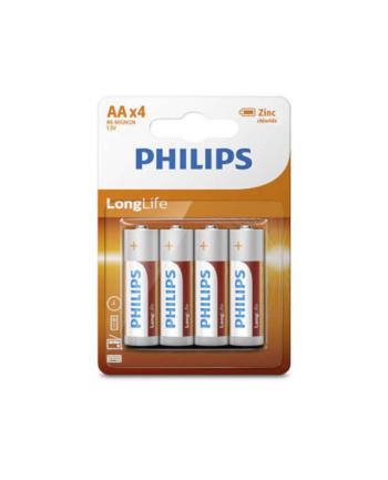 Bateria PHILIPS R6L4B/10 LONGLIFE ( idealna do zegarów  kalkulatorów  pilotów i radia )