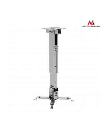 Maclean MC-581S sufitowy uchwyt do projektora 43-65 cm 20kg