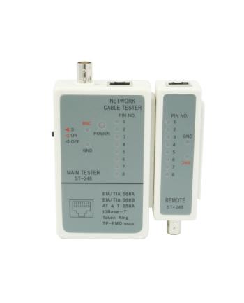 Tester kabli RJ-45 i 11 ,RG-58 BNC