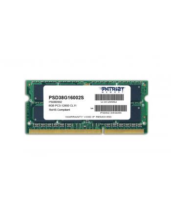 SODIMM DDR3 8GB 1600MHz CL9