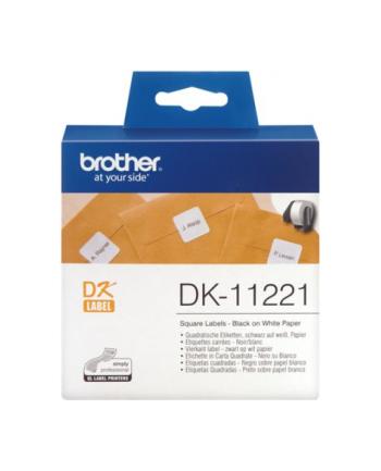 Etykiety Brother DK11221   23mm x 23mm x 1000
