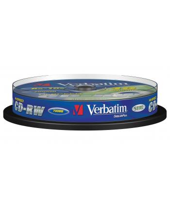 Płytki CD-R/W VERBATIM 8-12x SCR. RES CAKE10 43480