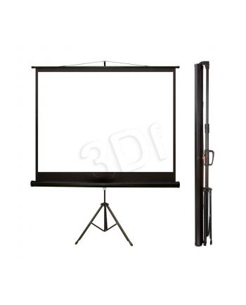 4World Ekrany projekcyjne ze statywem 170x127 (84'',4:3) biały mat