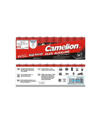 Camelion Plus Alkaline AA (LR06) Display Box (24x10pcs) Shrink Pack, 2600mAh