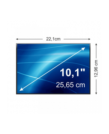 Matryca LCD, podś. LED, 10.1'', 1366x768, 40pin, gloss