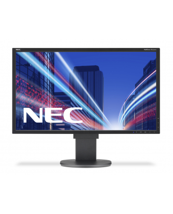 NEC Monitor MultiSync LED EA223WMe 22'' wide, DVI, DispayPort, USB, HAS, czarny