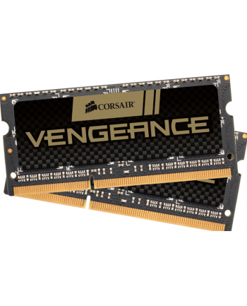 Corsair 2x4GB, 1600MHz DDR3, Unbuffered, CL9, SODIMM