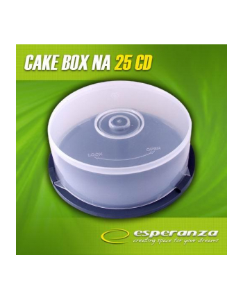 PUDEŁKO CAKE BOX NA 25 CD/DVD