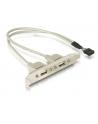 Gniazda USB 2 x 2.0 na śledziu - nr 4