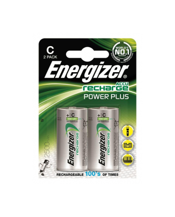 Akumulator Energizer H R14 2500mAh Power Plus /2szt.