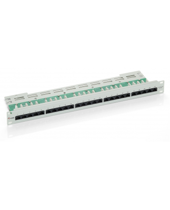 PATCH PANEL 25 PORT 1U KAT.3 (ISDN) SZARY EQUIP