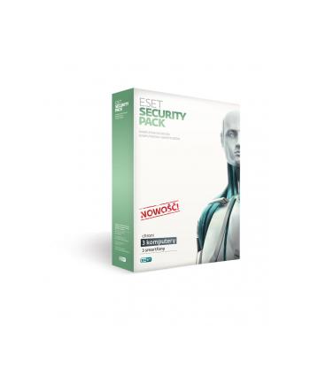 !ESET Security Pack BOX 3PC 3smtf 2Y   ESP-N3D2Y