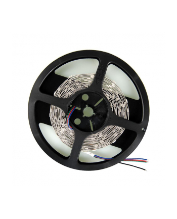 Whitenergy taśma LED 5m | 30szt/m | 5050 | 7.2W/m | 12V DC | RGB | bez konektora