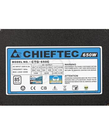 Chieftec CTG-650C 650W A80 Series box