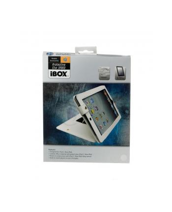 iBOX ETUI EKO SKÓRA iPad 2  New iPad  BIAŁE