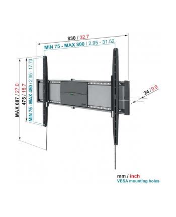 Vogels EFW8305 32-50 inch (81-127cm)/ 45kg/ VESA (75x75mm up to 800x450mm)