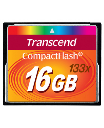 Transcend karta pamięci CompactFlash 16GB High Speed 133x