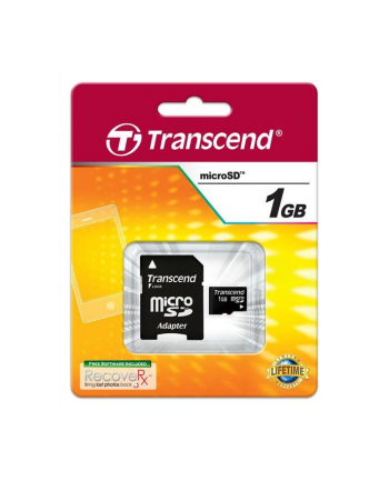Pamięć micro SecureDigital Transcend  1GB