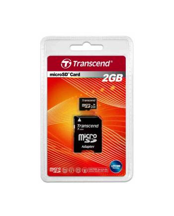 Transcend karta pamięci Micro SD 2GB